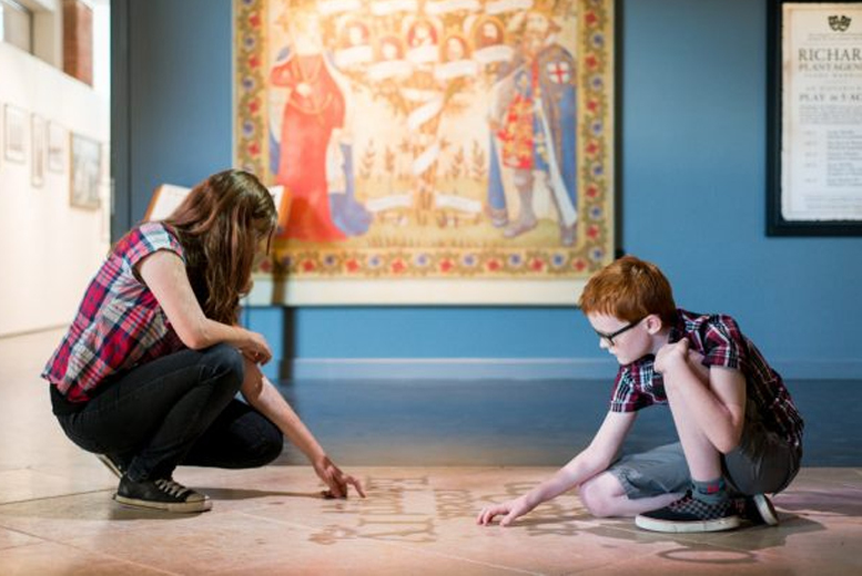 Entertainment: King Richard III Visitor Centre Entry For 2, Leicester - Family Option!