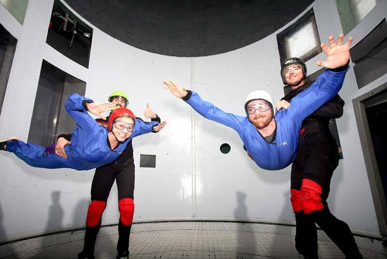 Activities: Indoor Skydiving Experience - For 1 Or 2 People!