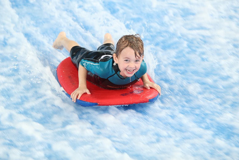 Activities: Indoor Surfing Experience - For 1 Or 2 People!
