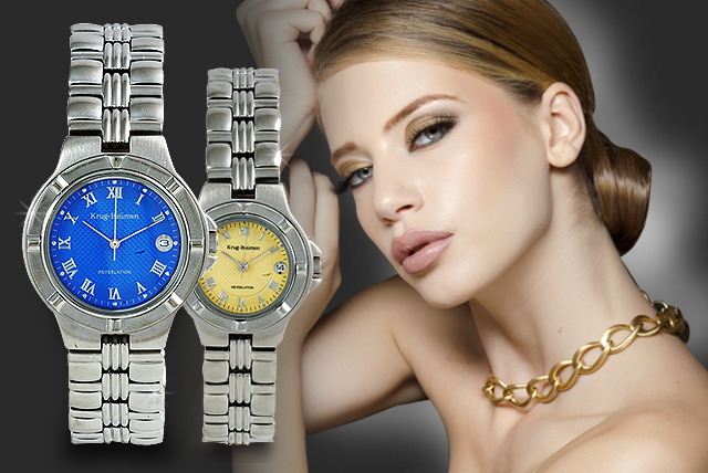 £59 instead of up to £279 (from Watches2U) for a choice of Krug Baumen watches for men and women - save up to 79%