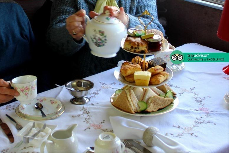 Activities: Heritage Train & Afternoon Tea for 2, Ecclesbourne Valley Railway