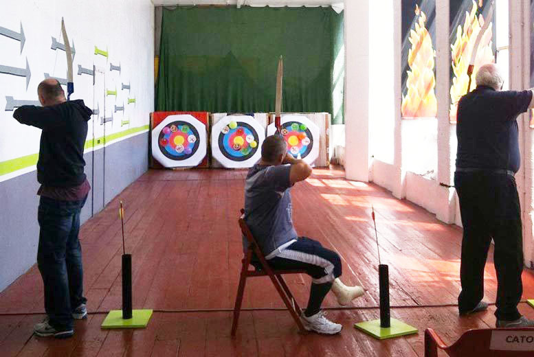 Activities: 1hr Archery Experience for 2 or 4 @ Marple Archery, Stockport