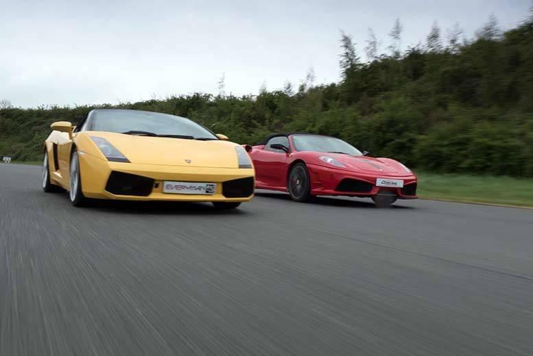 Activities: Drivers Dream Days 3-Lap Supercar & Hot Lap Experience
