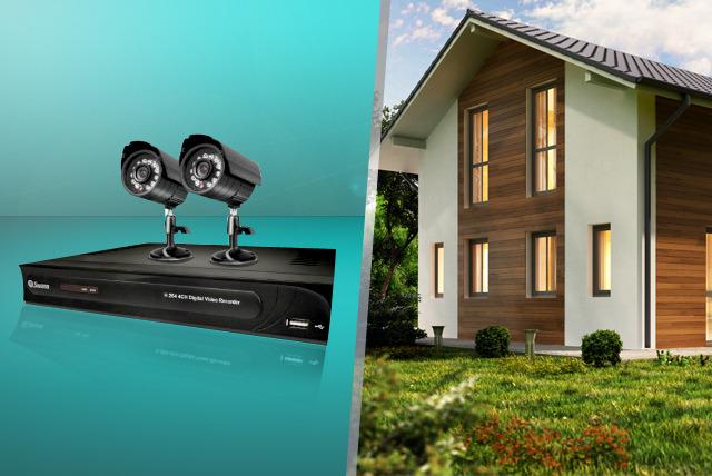 £139.99 for a refurbished Swann DVR4-1200 2 Camera Security System from Wowcher Direct