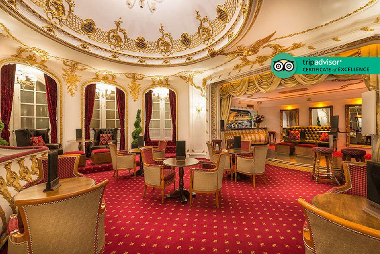 Restaurants & Bars: 2hr 'Bottomless' Prosecco Afternoon Tea for 2 @ Grand Royale Hyde Park