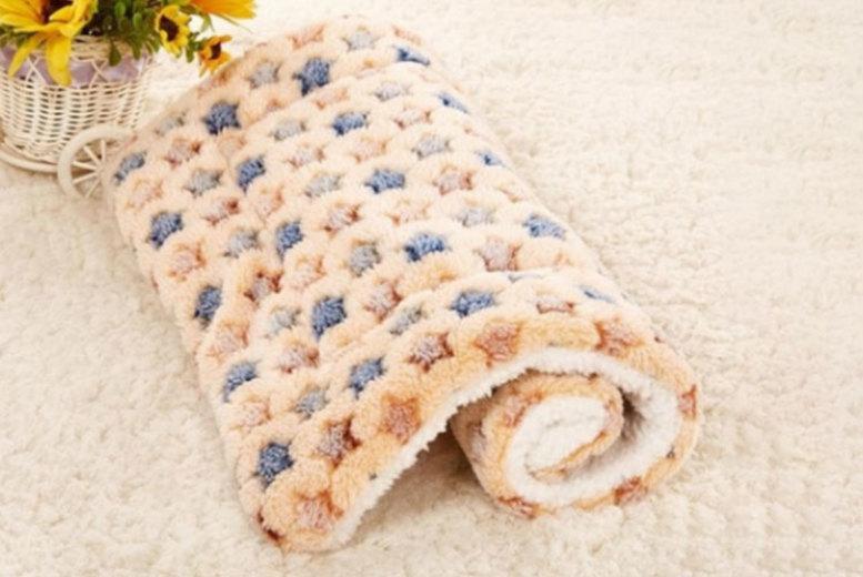 Soft Cushion Pet Bed  4 Sizes & 3 Colours!