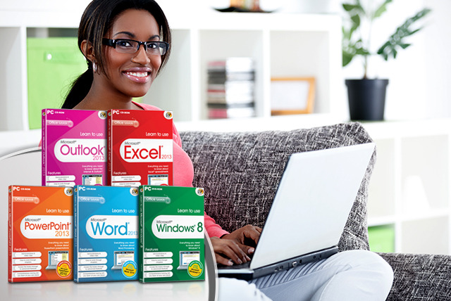 £5 (from Avanquest) for a 'Learn to Use' Microsoft® Word, Windows 8, Excel, Outlook 2013 or Powerpoint, or £20 for all - save up to 51%