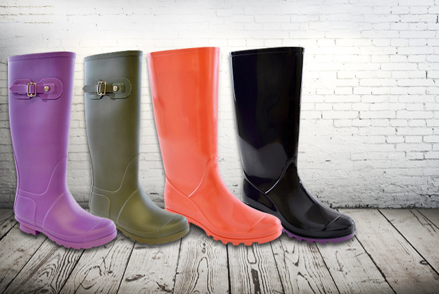 £10 instead of £30 (from Urshu) for a pair of ladies' winter wellies in a range of designs - save 67%