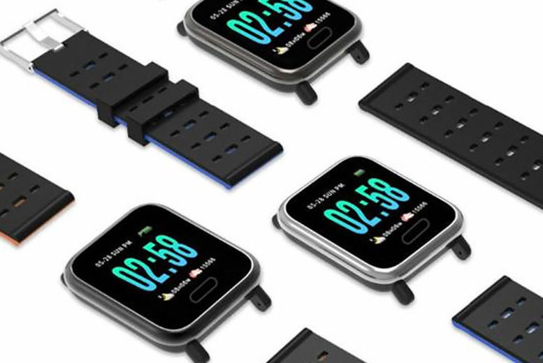 A6 Smart Watch with Blood Pressure Monitor  3 Colours!