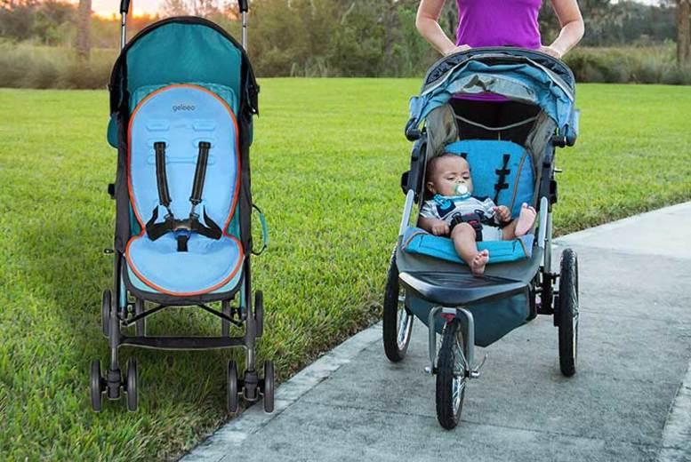 Baby Blue Cooling Universal Stroller & Pram Mat