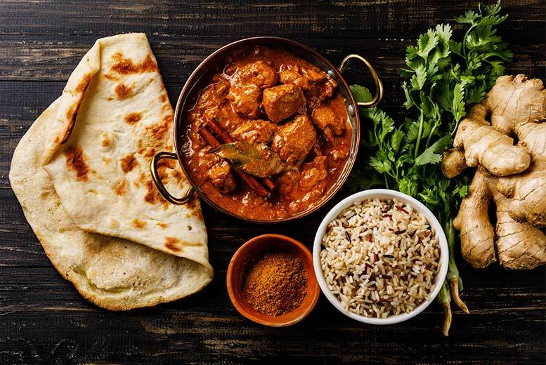 Restaurants & Bars: 2-Course Indian Dining & Beer For 2 @ Bombay Lounge, Todmorden