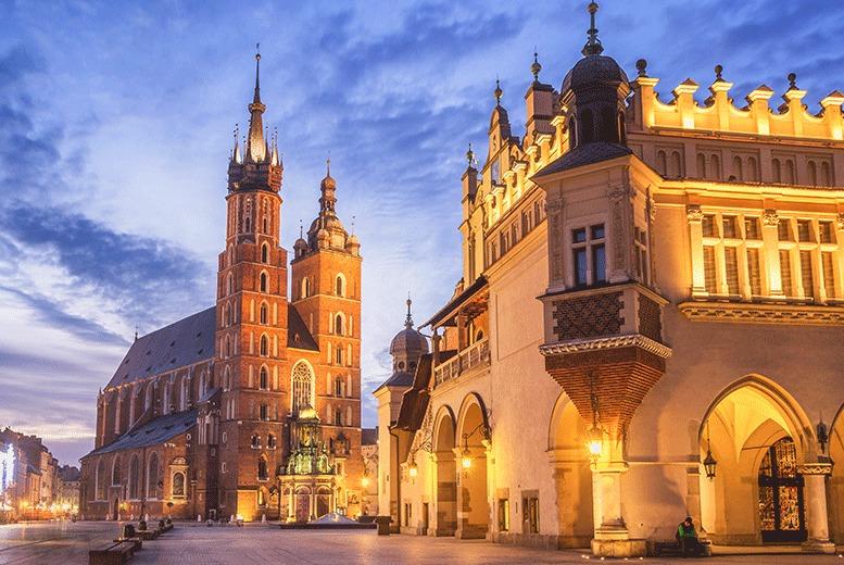 European City Breaks: 2-4nt 4* Central Krakow City Escape, Breakfast & Flights