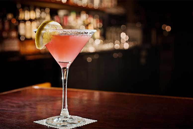 Restaurants & Bars: 2 Courses & Champagne Cocktails For 2 @ Covent Garden Comedy Cellar