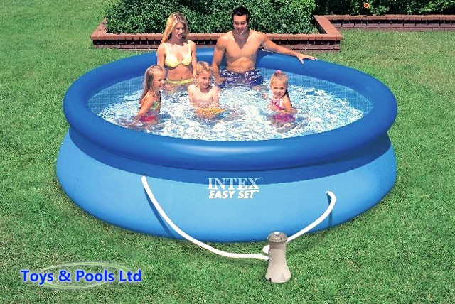 £49 instead of £130 (from Toys and Pools) for a 10 foot Intex Easy set inflatable pool with a filter pump and DVD – save 62%