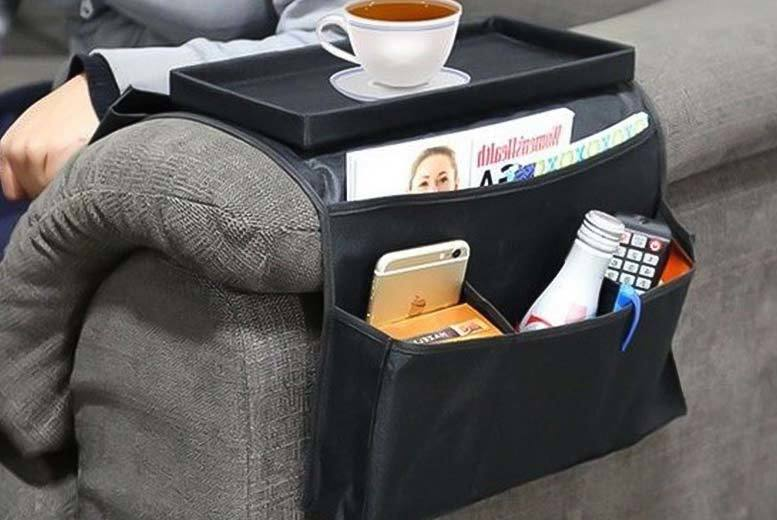 £4.99 instead of £29.99 (from Shopdirectly) for a six-pocket sofa armrest organiser, or £8.99 for two - save 83%