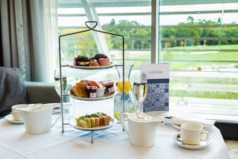 Restaurants & Bars: Traditional Afternoon Tea for 2 @ 4* Hilton at Ageas Bowl