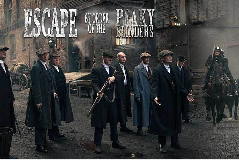 Activities: Peaky Blinders Escape Room For Up To 6