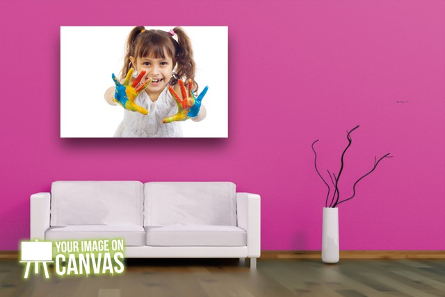 £29.99 instead of £129.99 (from Your Image On Canvas) for a 34 inch x 46 inch personalised photo canvas - save a snappy 77%