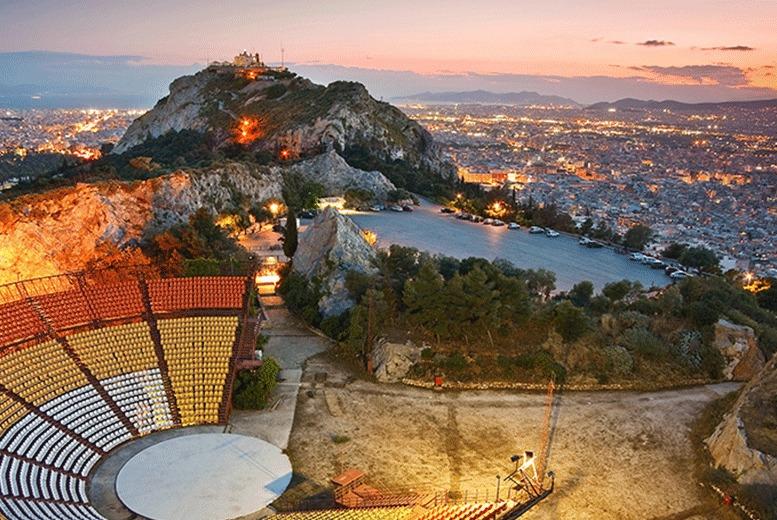 European City Breaks: 2-5nt Athens City Getaway, Breakfast & Flights
