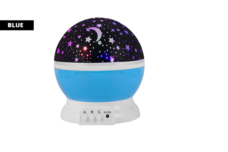 Night Light Star Projector 3 Colours
