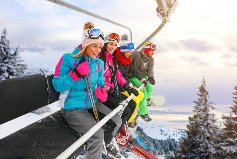Sports & Adventure: 3-5nt Half-Board Italian Alps Spa Holiday, Ski Pass & Flights