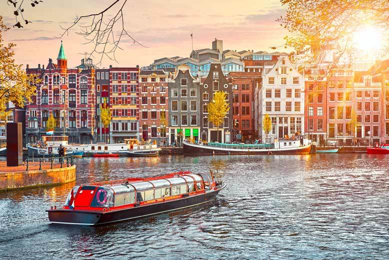 From £89pp (from Weekender Breaks) for a two night Amsterdam break with return flights, or from £149pp for a three-night stay - save up to 35% from Weekender Breaks