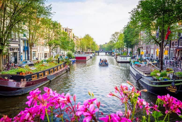 European City Breaks: 2-3nt Amsterdam Break & Flights - Riverside Location!