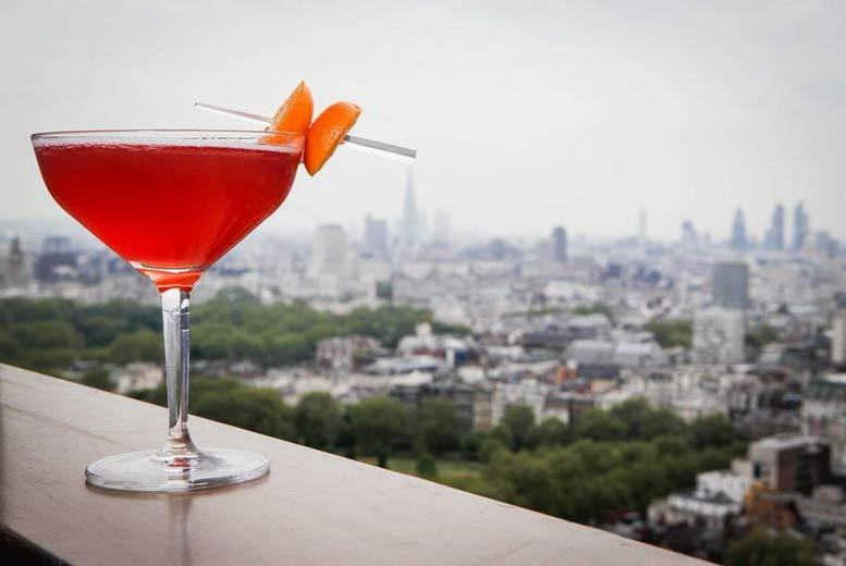 Restaurants & Bars: Michelin* 'Picnic in the Sky' & Cocktails For 2 @ Galvin at Windows, Mayfair