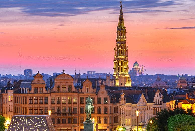 European City Breaks: 1-3nt Brussels City Break, Breakfast & Return Eurostar