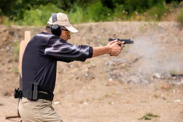 Activities: 2hr Target Shooting Experience for 1 Or 2 People!