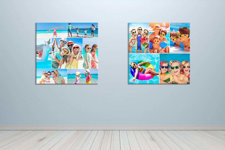 Personalised Single Image or Collage Canvas