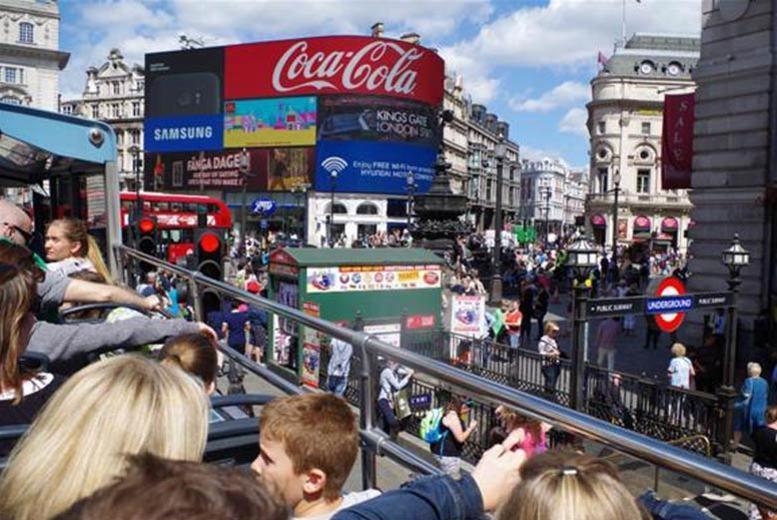 Entertainment: 3hr Open Top London Bus Tour