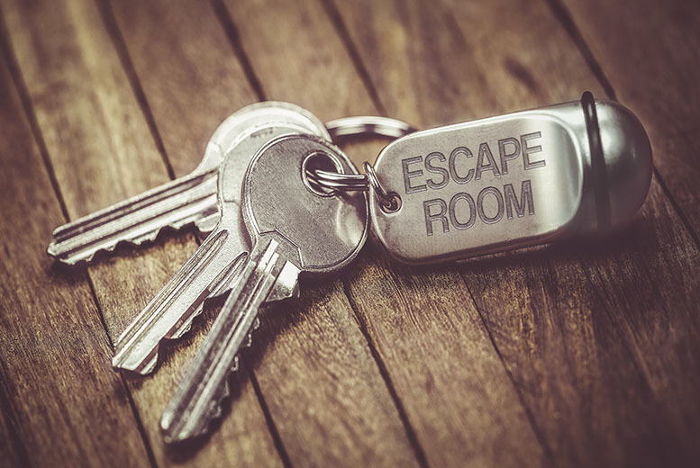 Activities: 1hr Escape Room Game for 2, 4 or 6 People!