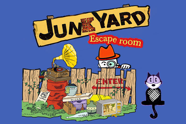 Activities: 1-Hour Space Junkyard Escape Room Game Experience For 4