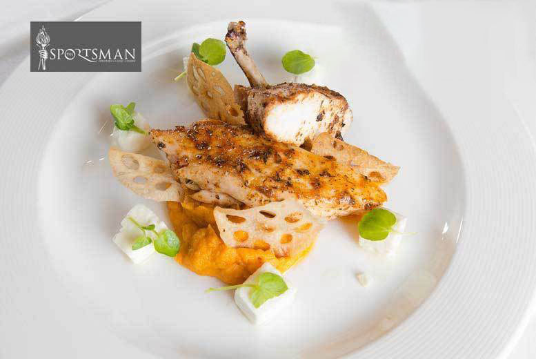 Restaurants & Bars: 3-Course Dining, Wine for 2 & £20 Sportsman Casino Bet, Marble Arch