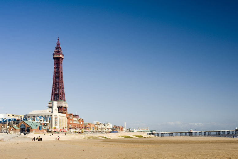 From £59 instead of £120 for a two-night break for two with breakfast at Sandford Promenade, Blackpool - save up to 51%