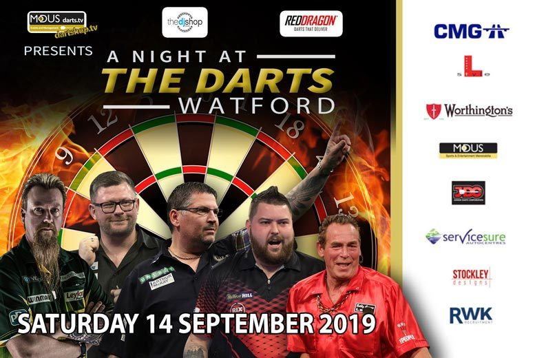 Entertainment: A Night at the Darts Tkt @ 7 Locations