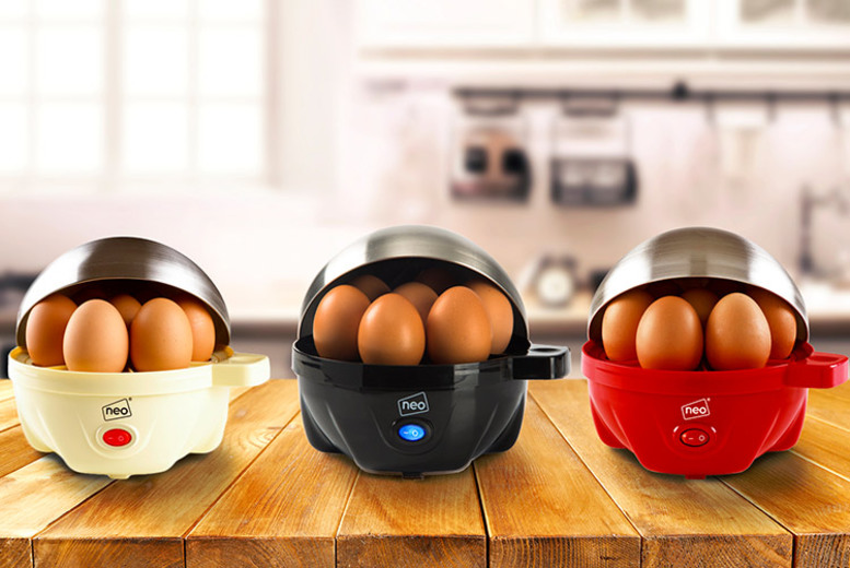 £11.99 instead of £55 (from Home Empire) for a Neo® three-in-one egg boiler, poacher and omelette maker - choose from six colours - Save 78%