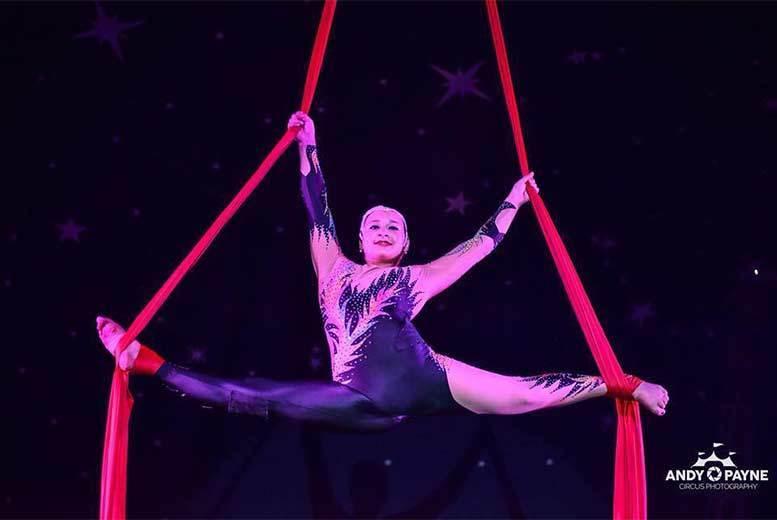 Entertainment: John Lawson's Circus Ticket @ 4 Locations!