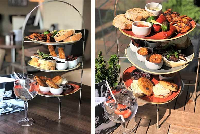Restaurants & Bars: 4* Spanish Afternoon Tea & Gin for 2, Salford Quays