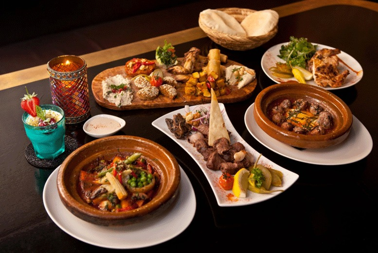 Restaurants & Bars: 3-Course Dining & Bottle of Wine for 2 @ Mamounia Lounge, Mayfair
