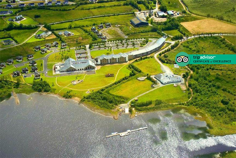Ireland: County Leitrim Spa Stay, Breakfast, Leisure Access & Spa Vouchers