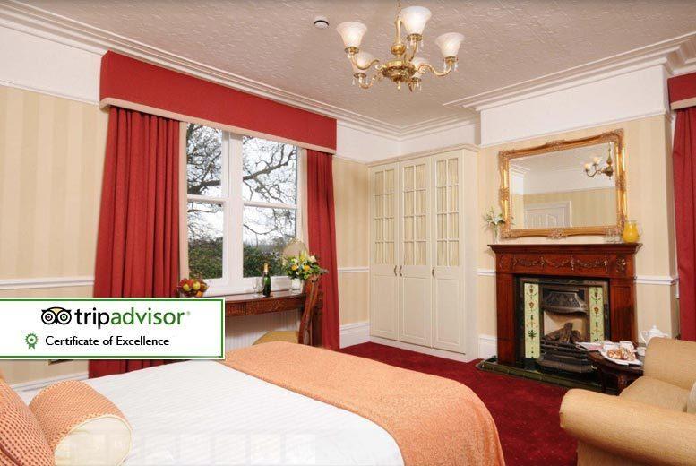 UK City Breaks: Cheshire Overnight Stay & Breakfast for 2 @ Brook Hall Inn