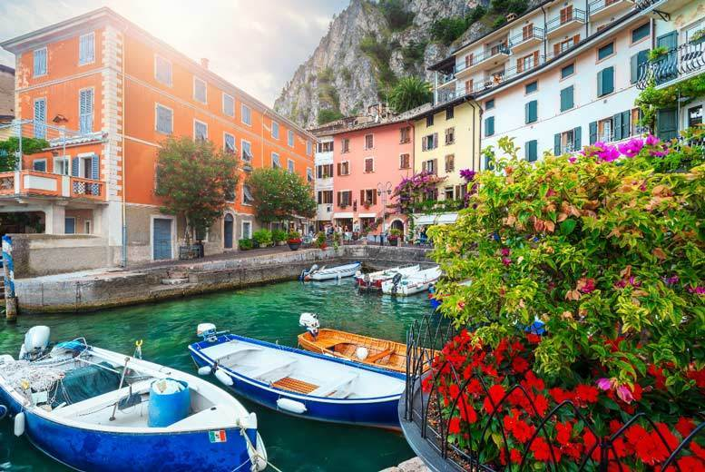 From £89pp (from Weekender Breaks) for a two-night Lake Garda holiday with breakfast and return flights, or from £129pp for three nights - save up to 37% from Weekender Breaks