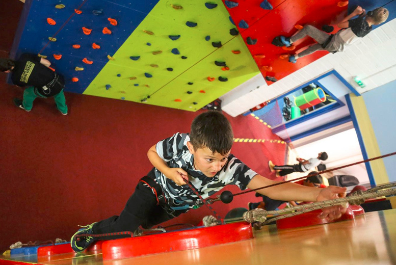 Activities: 1hr Climbing Session & 2hr Soft Play @ Rock Over Climbing