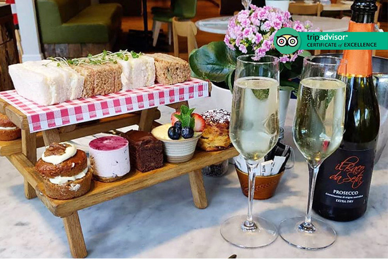 Restaurants & Bars: Afternoon Tea & Bottle of Prosecco for 2 @ Urban Meadow, Hyde Park