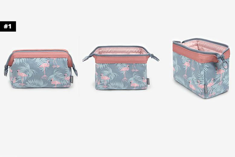 1, 2 or 4 Multifunctional Cosmetics Toiletry Bag  4 Designs!