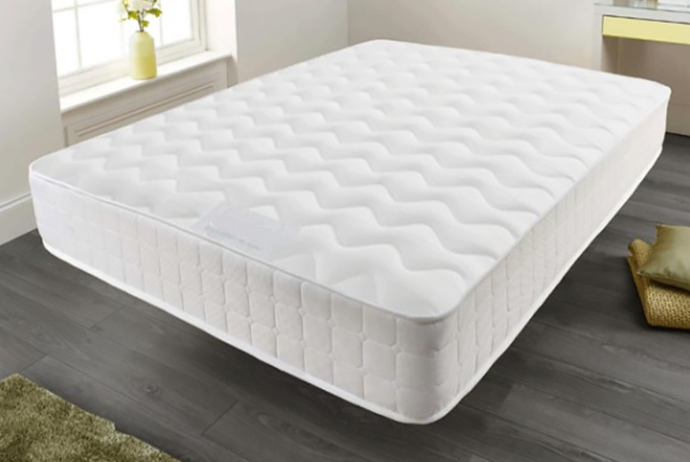 From £29 instead of £179.01 (from Diningtables.co.uk) for a memory foam quilted sprung mattress – save up to 84%