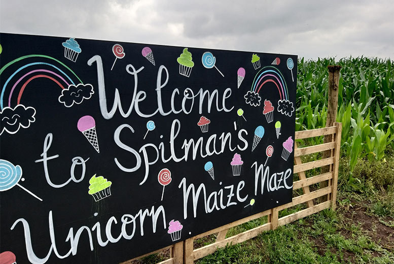 Activities: Uni-Corn Maze Entry For 2 or 4 & Hot Drinks!