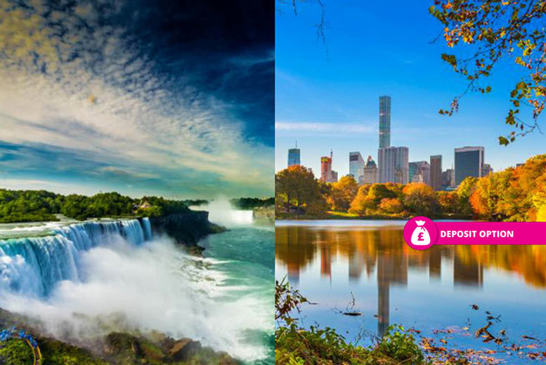 From £699pp (from Weekender Breaks) for a six-night New York and Niagara Falls holiday with a train transfer and return flights, or from £799pp for nine nights, or secure your holiday with a £199pp deposit - save up to 21% from Weekender Breaks